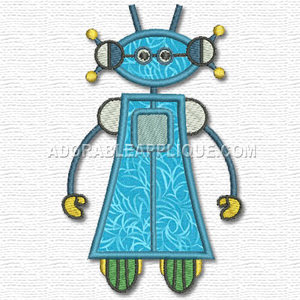 Robot Machine Embroidery Designs