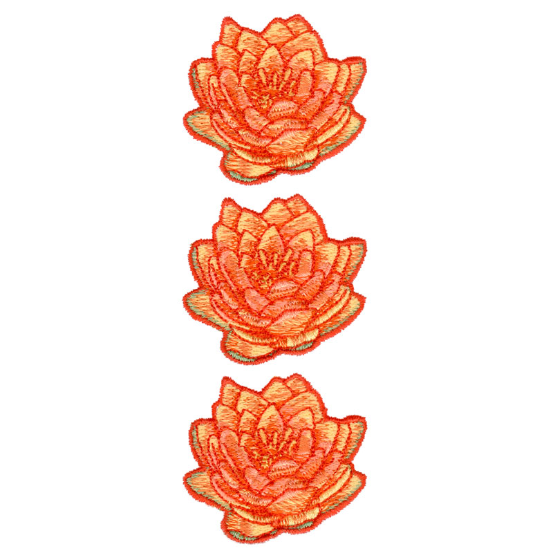 Water Lily Border Freeembroiderydesigns Com