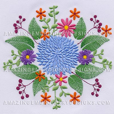 Embroidery Designs Free Download Flowers