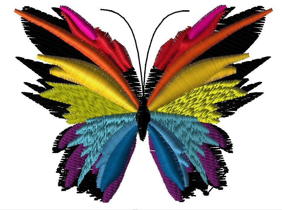 butterfly machine embroidery designs