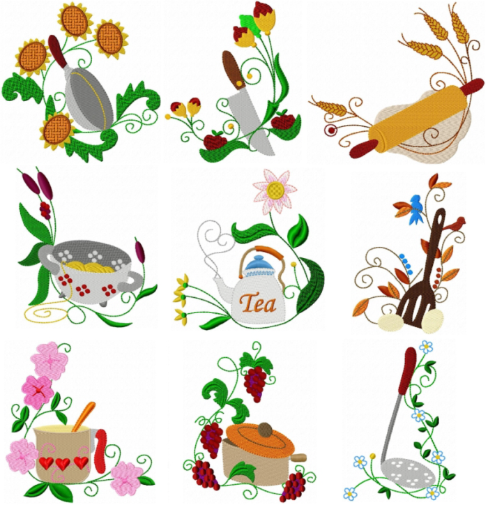 free kitchen embroidery designs deco kitchen corners freeembroiderydesigns 3558